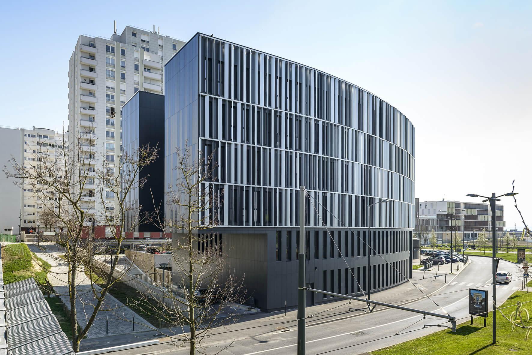 Hôtel des Solidarités – Reims (51) – 2015