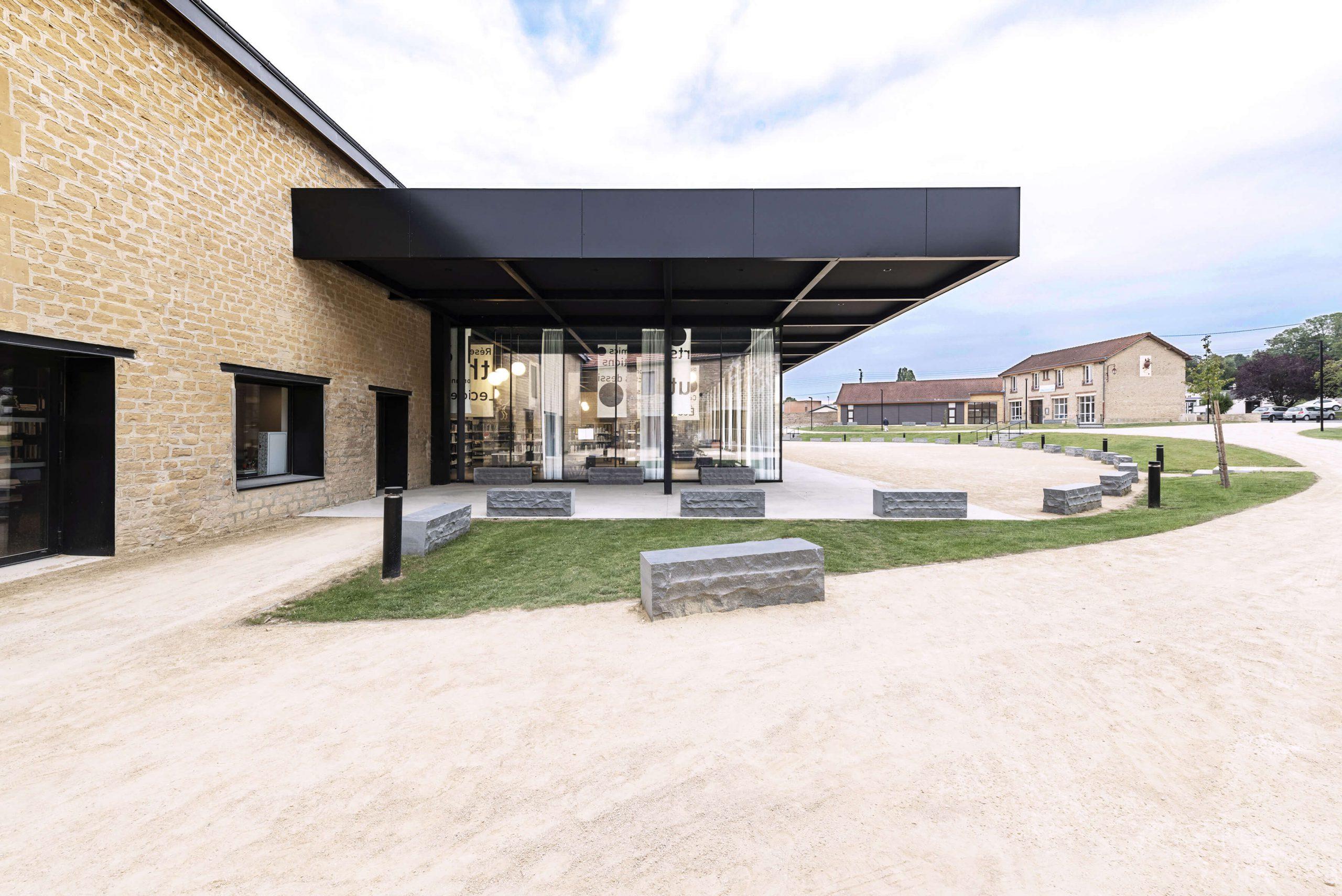 Médiathèque-musée L'Agora – Rethel (08) – 2018