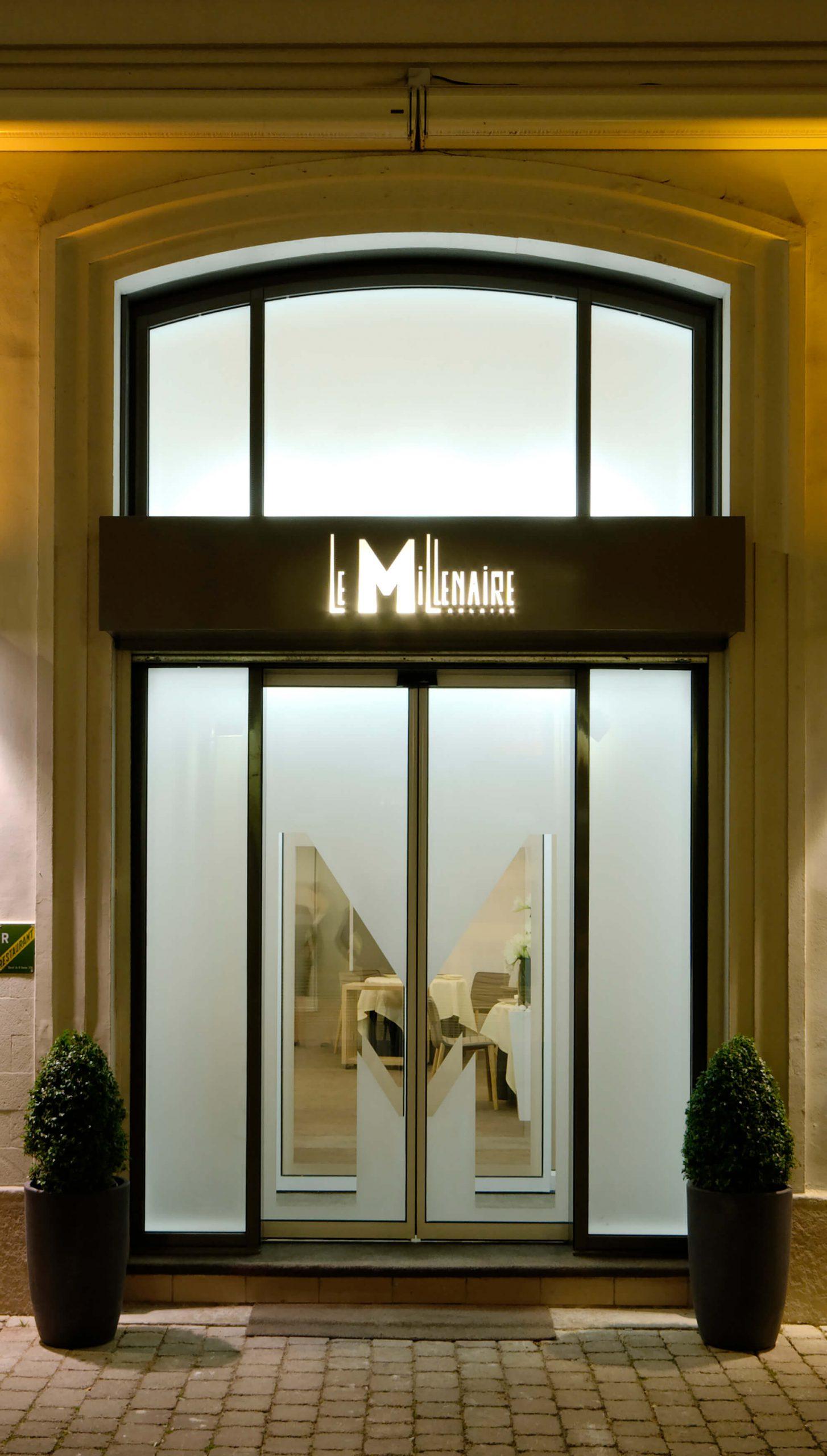 Restaurant Le Millénaire – Reims (51) – 2012